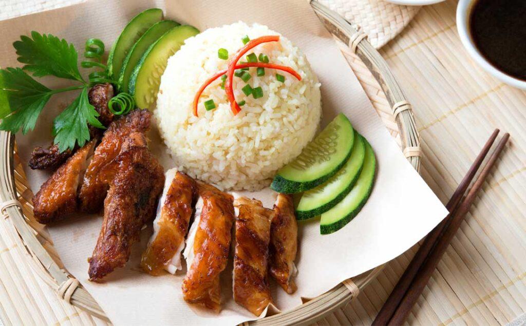 Chef Wan's Chicken Rice