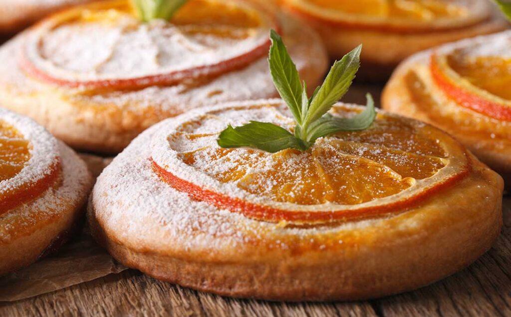 Honey and Orange Cookie