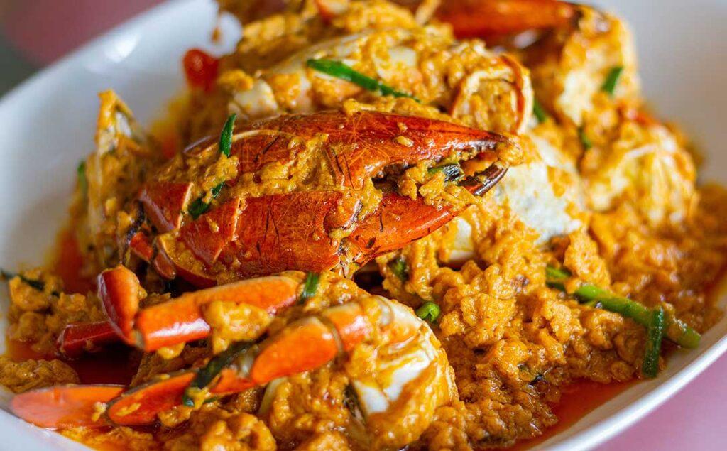 Pattaya Fried Crab