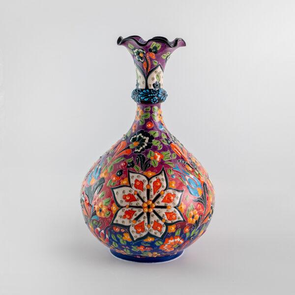 Chef Wan's Turkish Summer Anatolian Vase (25cm) (MIXED SWIRL)