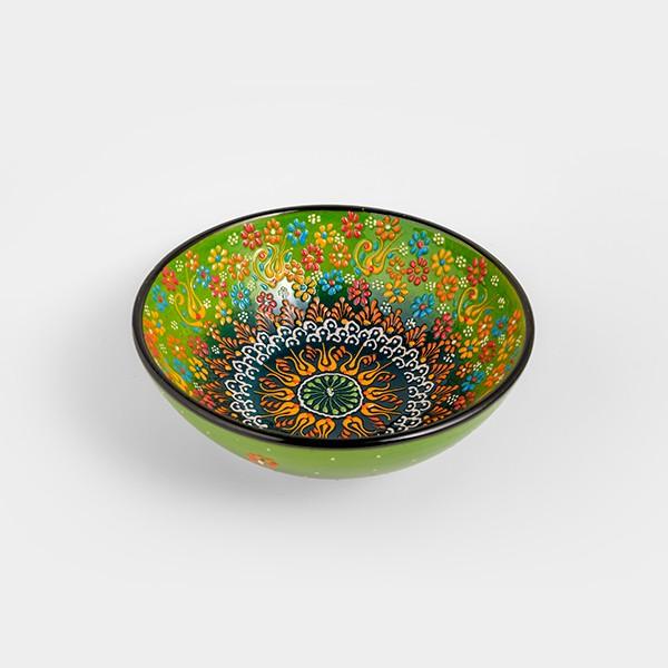 Chef Wan's Turkish Summer Decorative Bowl (20cm) (GREEN)