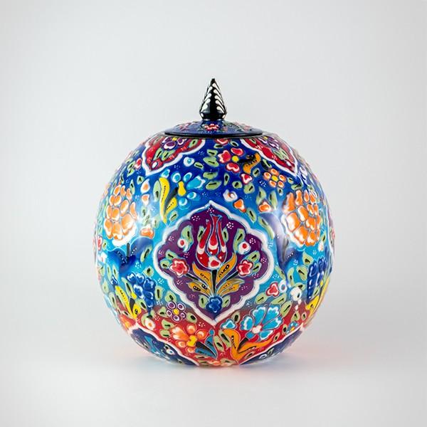 Chef Wan's Turkish Summer Artisanal Jars (15cm) (BLUEPURP MIX)