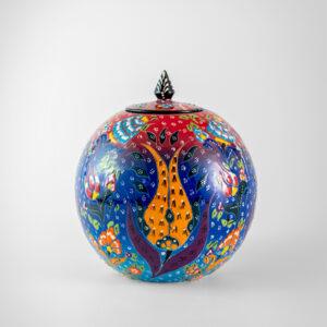 Chef Wan's Turkish Summer Artisanal Jars (15cm) (LBLUE+DBLUE+RED)