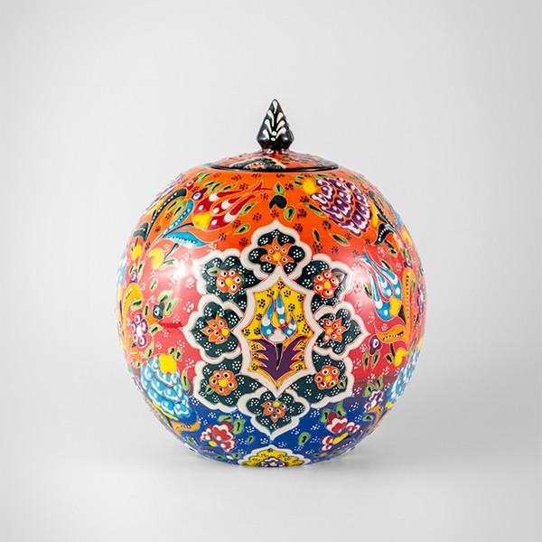 Chef Wan's Turkish Summer Artisanal Jars (15cm) (BLUE+RED+ORANGE)