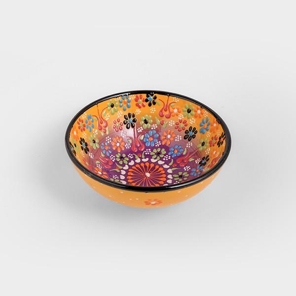 Chef Wan's Turkish Summer Decorative Bowl (15cm) (YELLOW + PURPLE)