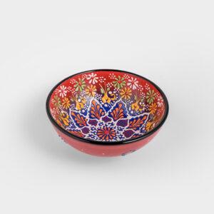Chef Wan's Turkish Summer Decorative Bowl (15cm) (RED + BLUE)
