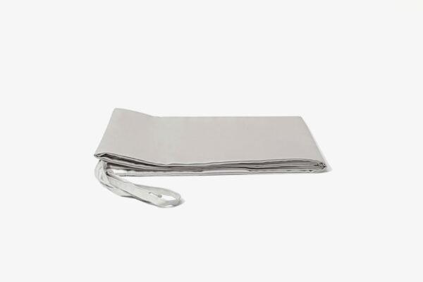 Bolstercase - 100% extra-long staple cotton - Whisper Grey
