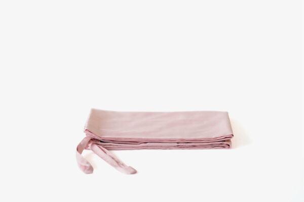 Bolstercase - 100% extra-long staple cotton - Blush Pink