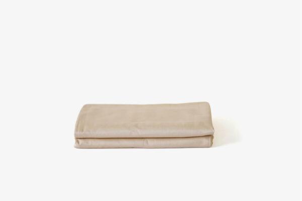 KAPAS pillowcases (x2) - 100% long staple cotton - Creamy Biege