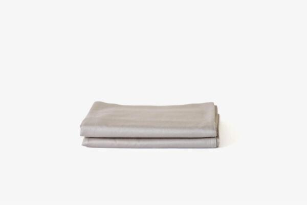 KAPAS pillowcases (x2) - 100% long staple cotton - Stone